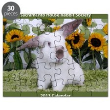 Calendar Cover-Presto in Sunflowers 2 Puzzle