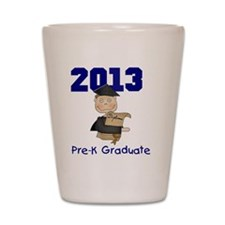 2013 Boy Pre-K Graduate Shot Glass