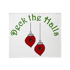 Deck The Halls Throw Blanket