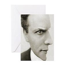 Houdini Optical Illusion Vertical Greeting Card