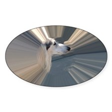 SALUKI 2 - TUNNEL HEAD Decal