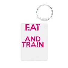 Eat Clean  Train Dirty Keychains