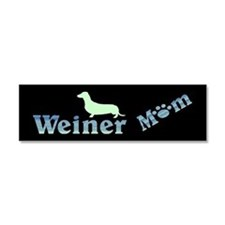 Weiner Mom 111 Car Magnet 10 X 3