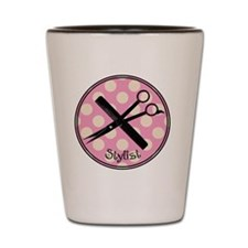 stylist pendant 2013 pink Shot Glass