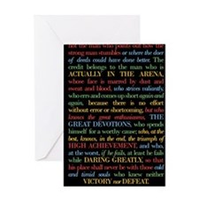 The Critic Greeting Card