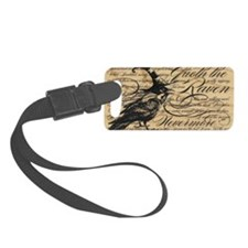 raven nevermore Luggage Tag
