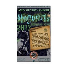Hogwarts Poster Rectangle Car Magnet