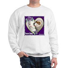 Ferret Stamp Sweatshirt