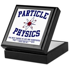 Particle Physics Keepsake Box