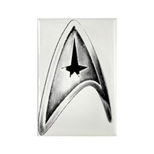Star Trek Badge Rectangle Magnet