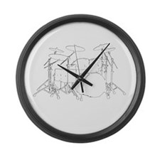 The tempo is what I say (TS-W) Large Wall Clock