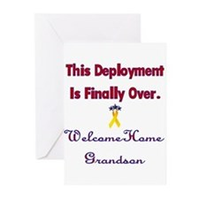 Welcome home grandson Greeting Cards (Pk of 10
