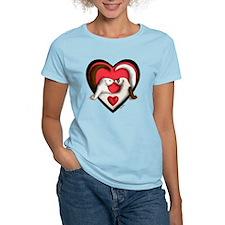 Ferrets in Heart T-Shirt