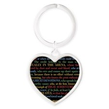 The Critic Heart Keychain