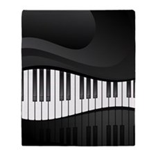 Piano Throw Blanket