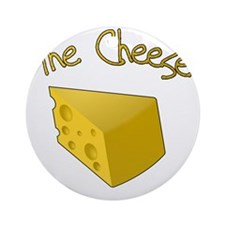 The Cheese Round Ornament
