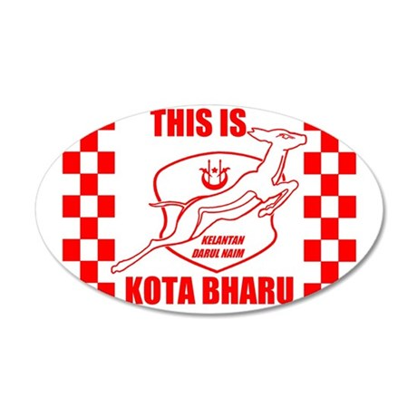 This Is Kota Bharu 35x21 Oval Wall Decal