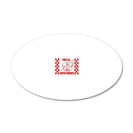 This Is Kota Bharu 20x12 Oval Wall Decal