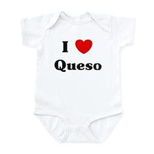 I love Queso Infant Bodysuit