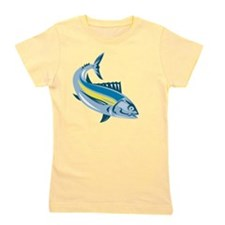 Albacore Tuna Fish Retro Girl's Tee