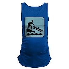 rafting Maternity Tank Top