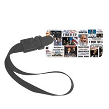 Obama Inauguration Luggage Tag