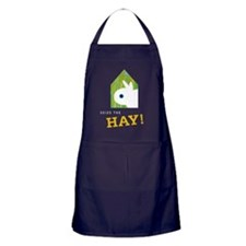 Snuffy Seize the Hay Apron (dark)
