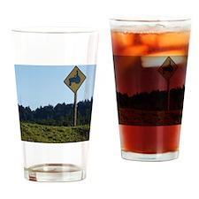 farmerwinelabel Drinking Glass