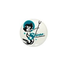 Sirens of New Orleans Mini Button