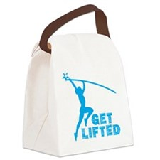 Womens Get Lifted Canvas Lunch Bag