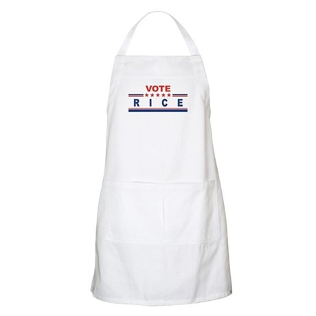 Condoleeza Rice in 2008 BBQ Apron