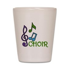 Choir Shot Glass