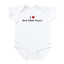 I love Red Chile Sauce Infant Bodysuit