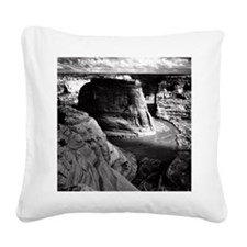 Ansel Adams Arizona Canyon Square Canvas Pillow