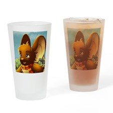 Market mouse button Drinking Glass