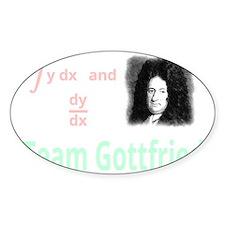 Team Gottfried (for dark background Decal