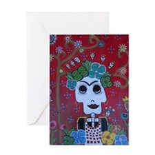 FREDA OF THE DAY Greeting Card