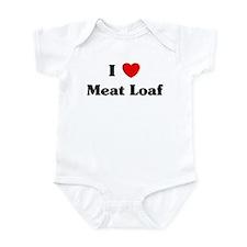 I love Meat Loaf Infant Bodysuit