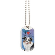 mini amer-oval key Dog Tags