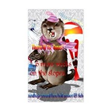GREETING CARDS Groundhog Day-6 Decal
