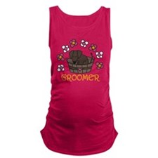 Groomer Maternity Tank Top
