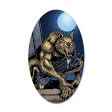 Werewolf Wall Decal