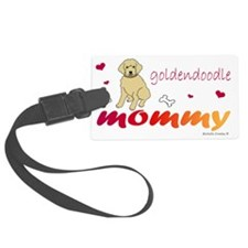 goldendoodle Luggage Tag