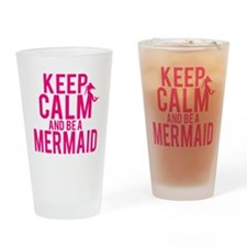 BE A MERMAID Drinking Glass