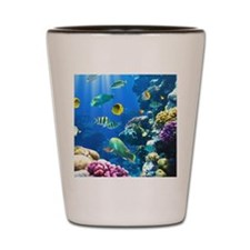 Ocean Life Shot Glass