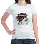 Caffeine Mantra Jr Ringer T-shirt