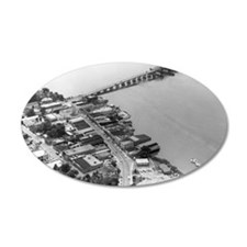 1960s Beaufort SC Downtown b Wall Decal