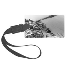 1960s Beaufort SC Downtown by Ai Luggage Tag