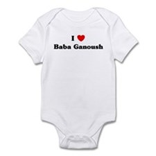 I love Baba Ganoush Infant Bodysuit