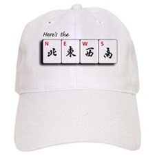 Mah Jong Note Cards Baseball Cap